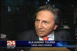 El líder de Perú Posible Alejandro Toledo se reunió con el presidente electo Ollanta Humala
