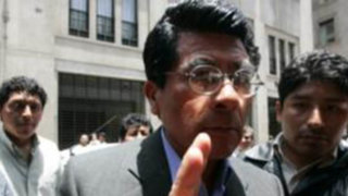 Piden dejar sin efecto indulto al aprista Julio Espinoza, ex jefe del SIS