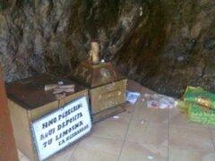 Sospechosos por robo de la cruz de Motupe son llevados a Chiclayo para interrogatorio