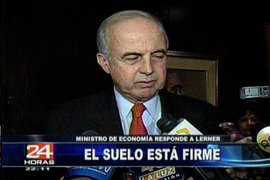 Titular del MEF Ismael Benavides niega riesgo de inflación denunciado por Salomón Lerner