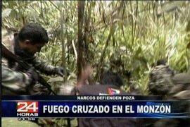 Policía se enfrentó con narcotraficantes en el valle del Monzón