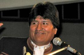 Presidente de Bolivia Evo Morales criticó a europeos por preferir mascotas antes que a los niños