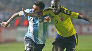 Colombia ocupa el primer lugar de su grupo en la Copa América luego de empate con Argentina
