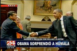 El presidente electo Ollanta Humala expresó preocupación de Obama por América Latina