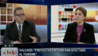 Piden a Omar Chehade pronunciarse sobre las reuniones de Alexis Humala en Rusia
