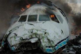 Accidente aéreo en el Congo dejó 127 muertos