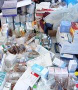 Policía decomisó material quirúrgico en el Cercado de Lima