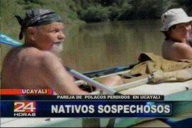 Encuentran pertenencias de turistas polacos perdidos en la selva de Ucayali