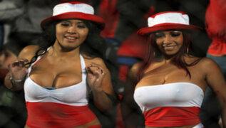 Vedettes peruanas la rompieron en el programa de Marcelo Tinelli