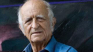 Pintor Fernando de Szyszlo mostró su confianza en el presidente electo Ollanta Humala