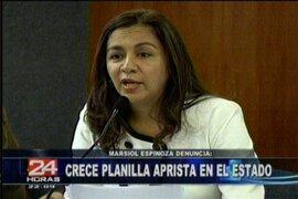 Gana Perú denuncia que el Gobierno saliente le deja una recargada planilla estatal