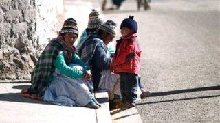 Senamhi: sierra sur del país mantendrá bajas temperaturas esta semana