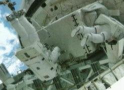 Astronautas de la Estación Espacial Internacional realizaron caminata