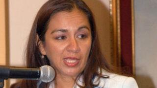Congresista Marisol Espinoza expresa preocupación por la situación de la salud