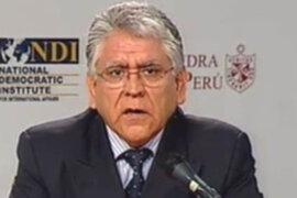 Ollanta Humala aceptó la renuncia de su asesor económico Félix Jiménez