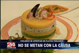 "Cheff mapochino muestra video donde indica que la ""causa es chilena"""