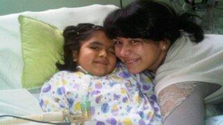 La pequeña Romina Cornejo será sometida a una complicada operación esta tarde