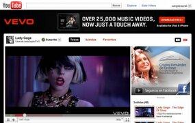 Youtube recupera canal oficial de Lady Gaga tras su repentino cierre
