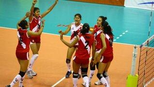 Selección peruana de voley se impuso ante Serbia en un partido amistoso