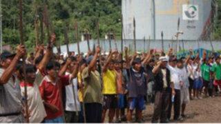 Unos 600 nativos toman base de PetroPerú en Loreto