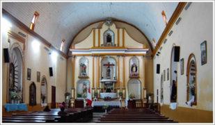 Robaron una daga y una corona de plata en la iglesia de Huaripampa