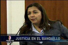 Gana Perú advierte de problemas graves en el sector Justicia