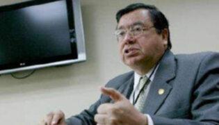 Genaro Matute renunció a la jefatura de la Comisión de Alto Nivel Anticorrupción