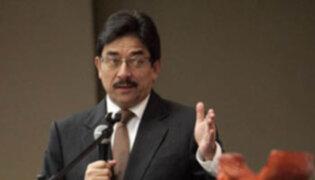 Ministro Cornejo cuestiona labor de la Comisión de Transferencia de Gana Perú