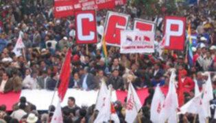 Sindicatos peruanos realizarán mitin con motivo del Día del Trabajo