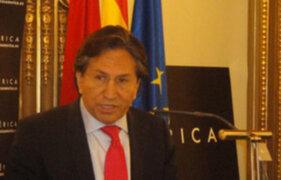 Toledo anunció apoyo al presidente Ollanta Humala luego de reunirse con sus partidarios
