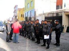 Policía de Arequipa tiene orden de inmovilidad por Fiestas Patrias