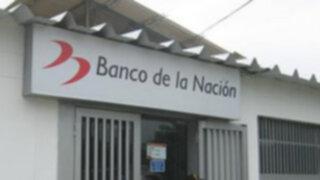 Destacan crecimiento de la rentabilidad social del Banco de la Nación en los últimos cinco años