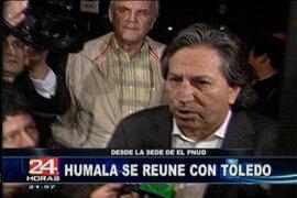 Toledo confirma apoyo de Perú Posible al presidente electo Ollanta Humala
