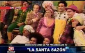 """Conferencia de prensa de """"La Santa Sazón"""", nuevo programa de Panamericana TV."""