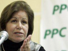 Lourdes Flores sería la candidata presidencial del PPC el 2016