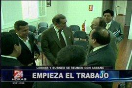 Presidente Ollanta Humala sostuvo reuniones con diversos gremios con su ministro Salomón Lerner