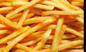 Personas que consumen frituras cuatros veces por semana  son propensas a la obesidad