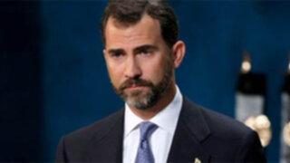 Príncipe de España llegó a Lima para transmisión de mando