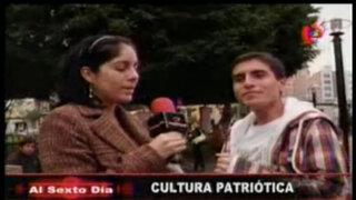 ¿Cuánto saben los peruanos sobre la independencia del Perú?