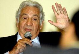 Secretario del Acuerdo Nacional Max Hernández pide una actitud reflexiva a la nueva oposición