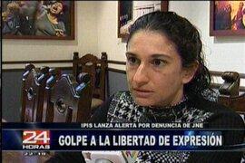 Gran polémica causó la denuncia del JNE contra el diario La Razón