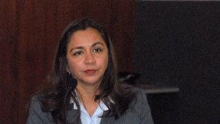 Vicepresidenta electa Marisol Espinoza refirió que Gana Pèrú  está al margen de los problemas en PP