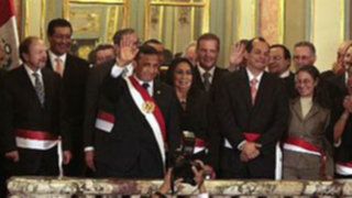 Ministros de Ollanta Humala asumen sus funciones