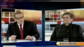 Martha Hildebrandt: Presidente Ollanta Humala tiene ahora buen tacto político