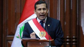 Gobierno de Humala crearía un equipo revisor de la Constitución de 1993