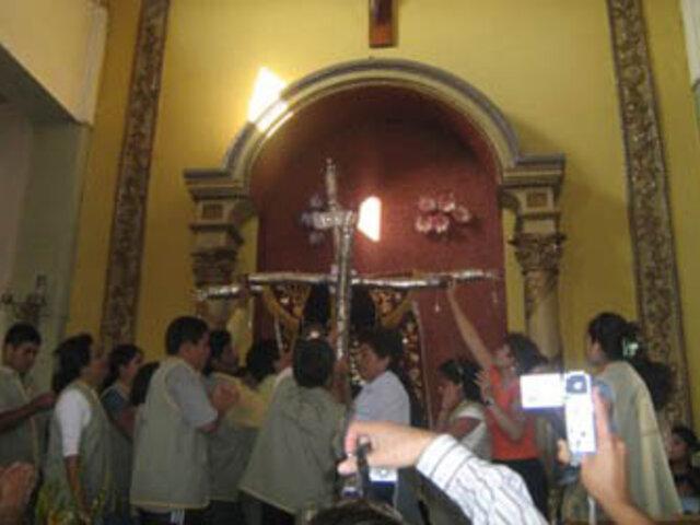 Cruz de Motupe será reconstruida por autoridades y ciudadanos