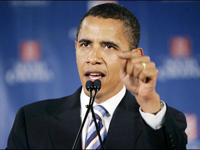 Presidente Barack Obama advierte de una nueva crisis económica en EE.UU.