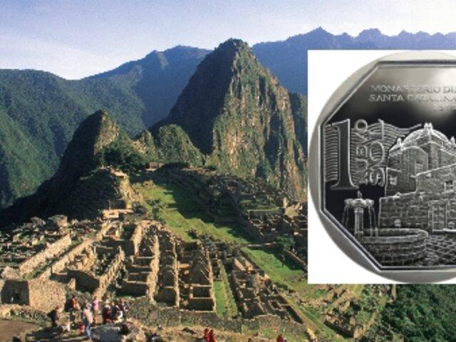 Monedas de S/1 con imagen de Machu Picchu circulan desde hoy en todo el país