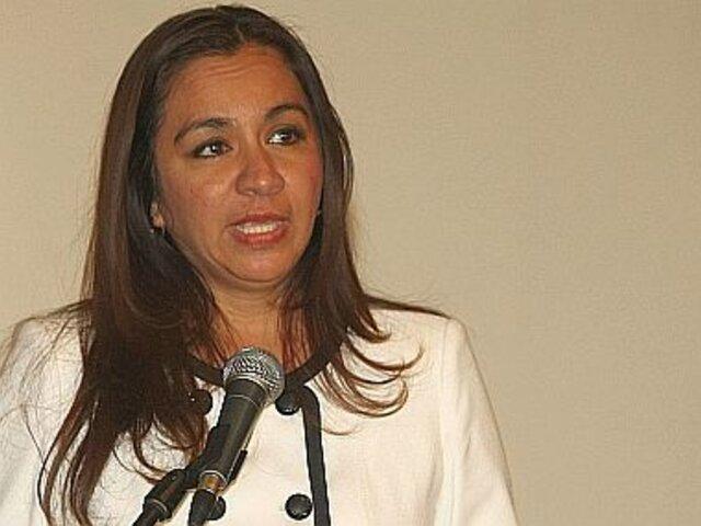 Marisol Espinoza: Gobierno tiene la obligación de poner mano dura contra la violencia