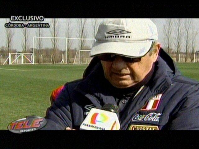 Sergio Markarián anuncia cambios tácticos para enfrentar a Chile